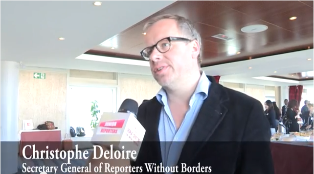 Interview with Christophe Deloire, Secretary General of RSF