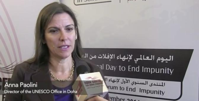 Junior Reporter interviews Anna Paolini