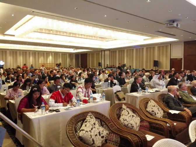 """""""افتتاح المؤتمر العالمي لمعهد الصحافة الدولي بيانغون، ميانمار تحت عنوان """"الطريق الى إعلام حر"""