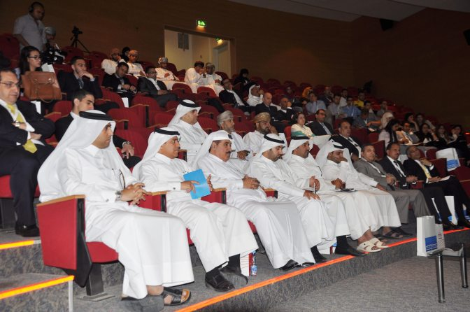 انطلاق فعاليات المسابقة الإقليمية الثانية للمحكمة الصورية باللغة العربية بجامعة قطر